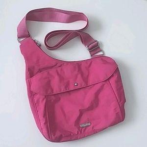 Baggallini Pink Sling-Style Travel Bag, Pink